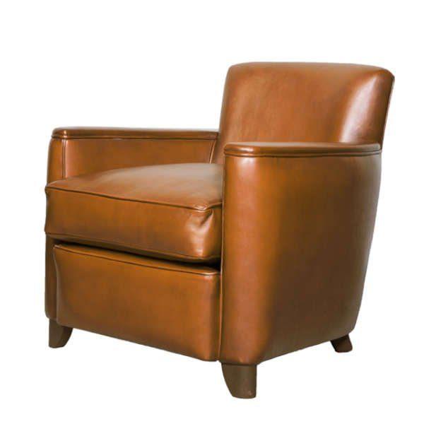 Petit fauteuil club Belle époque