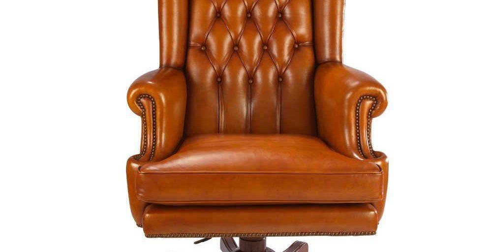 fauteuil club buckingham vue de face