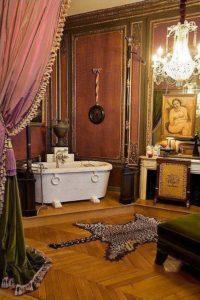 décoration d'une pièce dans le style Belle époque